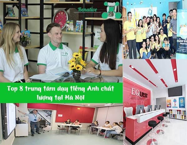 Trung tâm tiếng anh uy tín tại Hà Nội