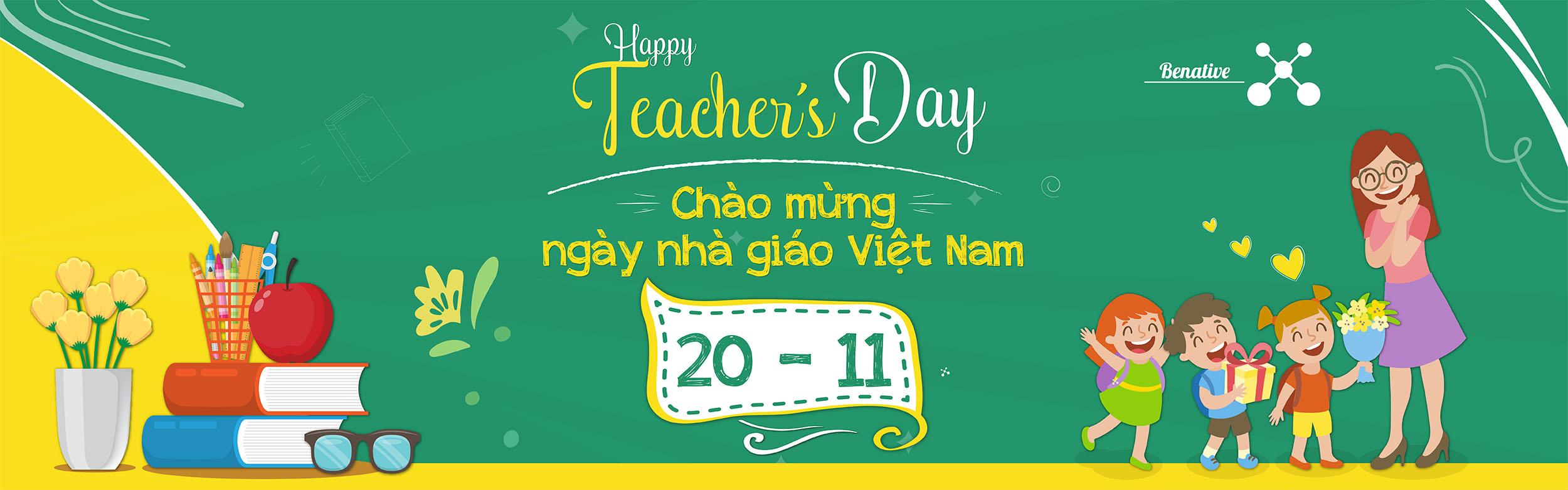 Mừng ngày nhà giáo Việt Nam