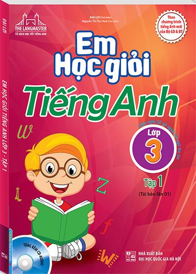 sách tiếng anh cho trẻ lớp 3