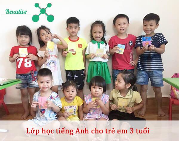 học tiếng anh cho trẻ em 3 tuổi