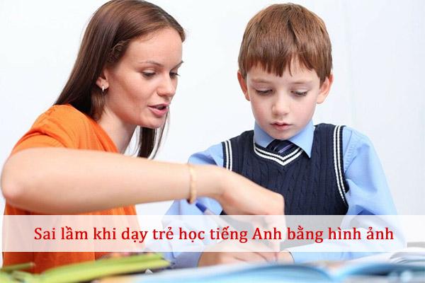 dạy trẻ học tiếng anh bằng hình ảnh