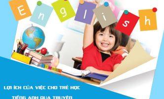 Lợi ích của việc cho trẻ học tiếng Anh qua truyện
