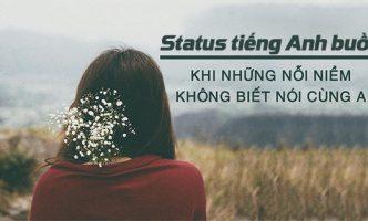 status tiếng Anh buồn