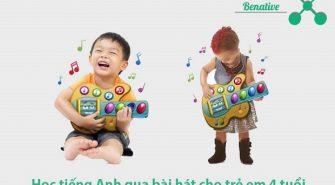 Học tiếng Anh qua bài hát cho trẻ em 4