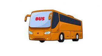 Mẫu câu giao tiếp tiếng Anh sử dụng khi đi xe Bus