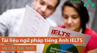 tài liệu ngữ pháp tiếng Anh IELTS và các bài test