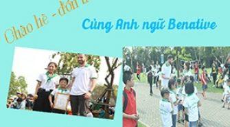 Benative Khai giảng lớp học tiếng anh giao tiếp cho trẻ em